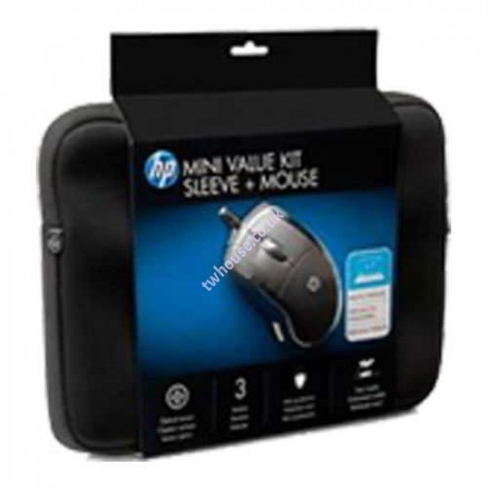 """HP Mini Value Kit (Sleeve + Mouse) for 10.2"""" Netbook/Tablet PC"""