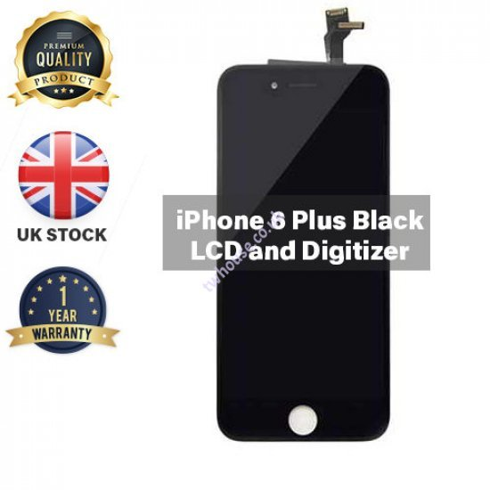 Generic High Quality Replacement LCD & Digitizers Compatible with iPhone 6 Plus (Black)