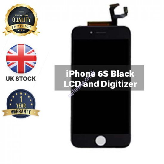 Generic High Quality Replacement LCD Compatible with iPhone 6S (Black)