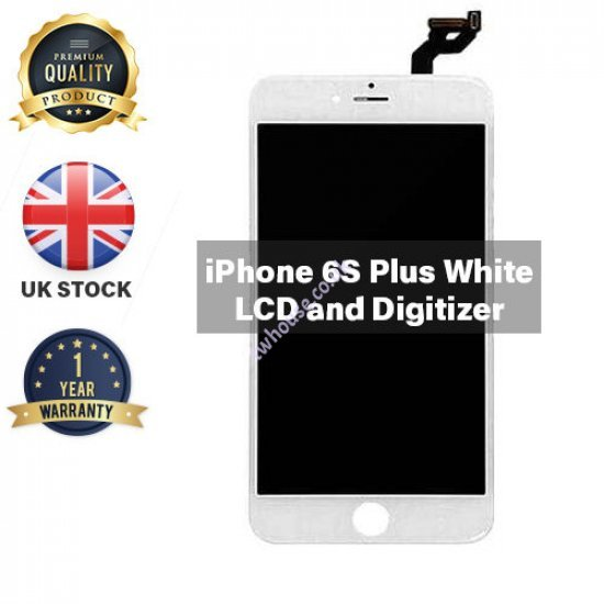 Generic High Quality Replacement LCD Compatible with iPhone 6S Plus (White)
