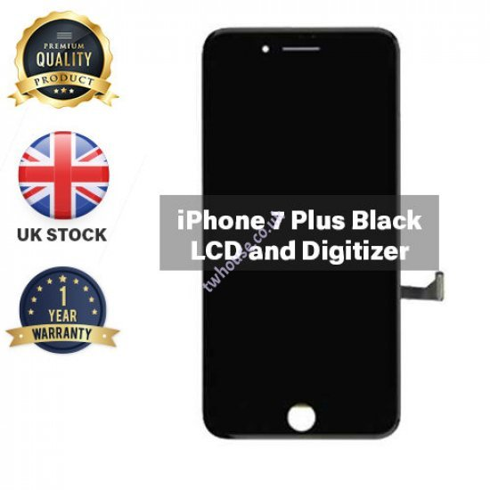 Generic High Quality Replacement LCD Compatible with iPhone 7 Plus (Black)