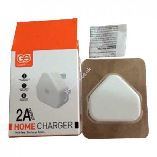 2.1A Gadget Store USB Wall plug Adaptor for iPhone 5, 6, 7, Plus, SE, iPad, iPod, Samsung, HTC & Sony