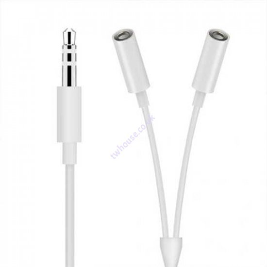 3.5mm Male to Dual Female Audio Adaptor