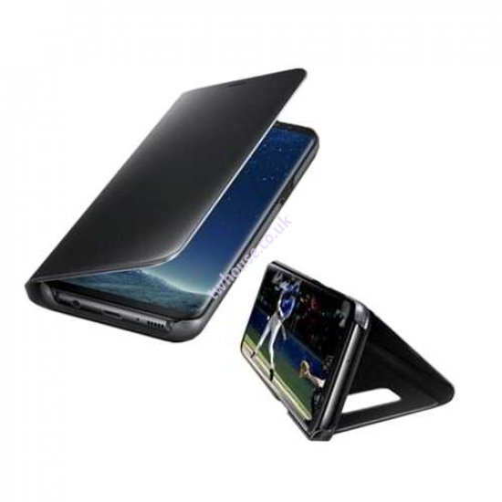 Clear View Standing Cover for iPhone XR