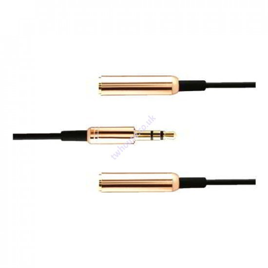 Earldom AUX-201 1 to 2 3.5mm Audio Splitter Cable Adapter