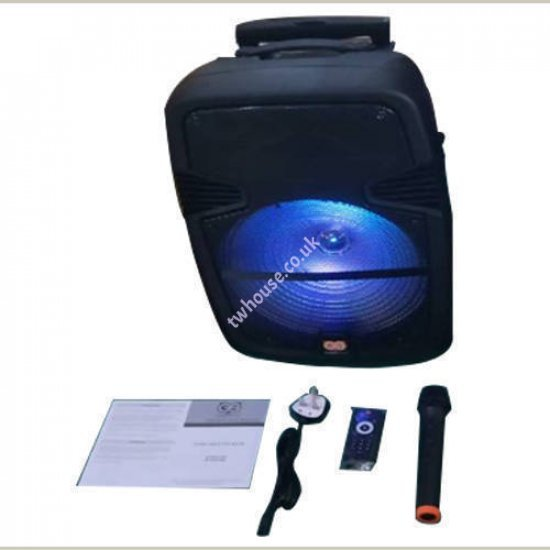 15 Inch Max Power Bluetooth Party Speaker BT-SPK1500