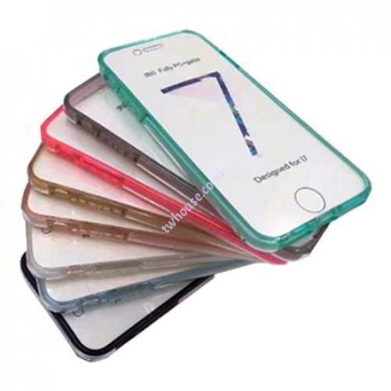 360 Fully PC & Glass Case for iPhone XR (Clear)
