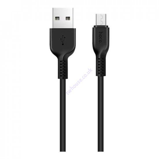 HOCO X13 2A 1M USB to Micro-USB Data Cable (Black)