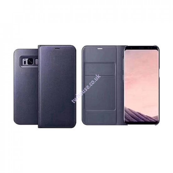 Side Opening Case with Card Holder for Samsung S10