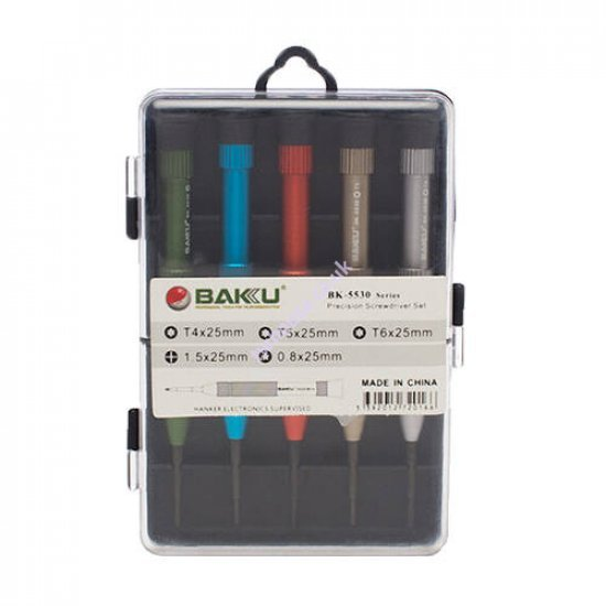 BAKU BK-5530 5 in 1 Screwdriver Set