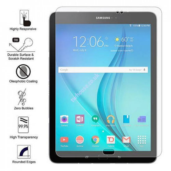 Premium Tempered Glass Screen Protector 0.3mm 2.5D for Samsung Tab S3 T820/T825