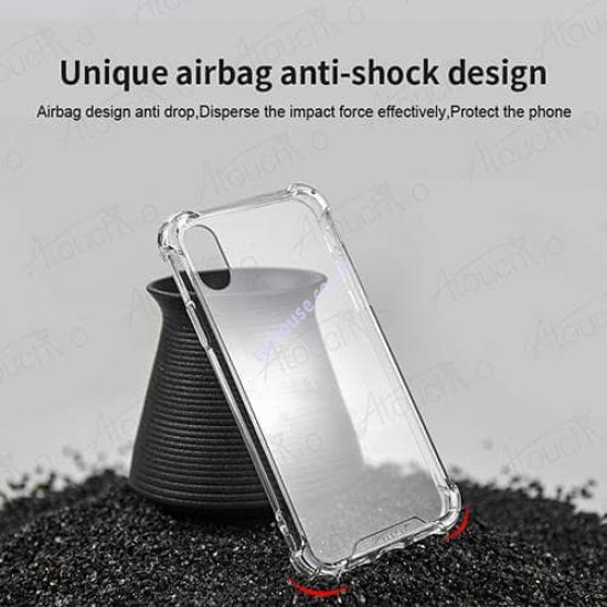Atouchbo 10D 4 in 1 360 All-Round Protection Case for iPhone X/XS (Black)