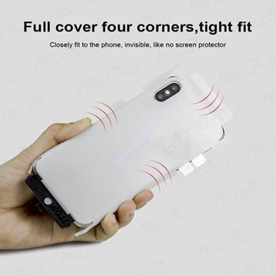 Atouchbo 10D 4 in 1 360 All-Round Protection Case for iPhone XR