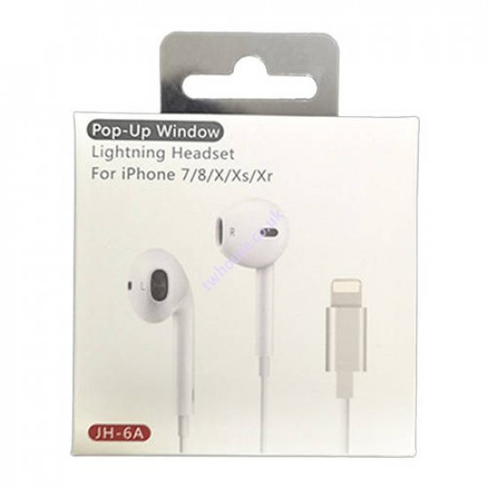 JH-6A Headset Earphone with Connector Compatible with iPhone 7/8/X/XS/XR