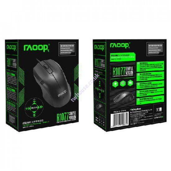 RAOOP R1077 Wired Mouse