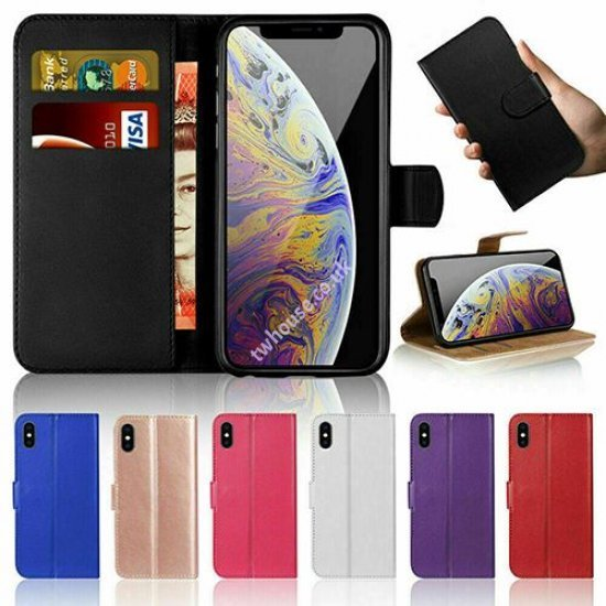 """Mobile Book Case with Card Wallet for iPhone 12 Mini (5.4"""")"""