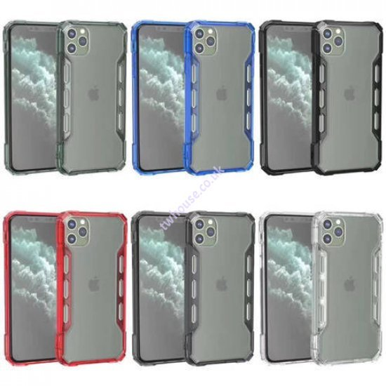 """Zuzu Hybrid Protection Hard PC Clear Case for iPhone 12 Mini (5.4"""")"""