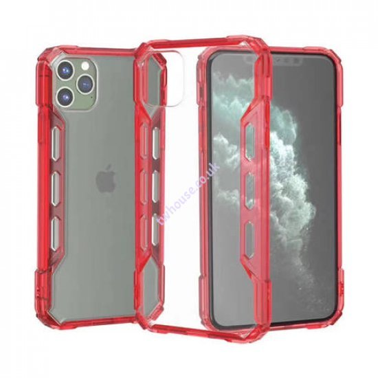"""Zuzu Hybrid Protection Hard PC Clear Case for iPhone 12/12 Pro (6.1"""")"""