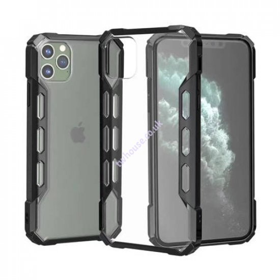 """ZUZU Hybrid Protection Hard PC Clear Case for iPhone 12 Pro Max (6.7"""")"""