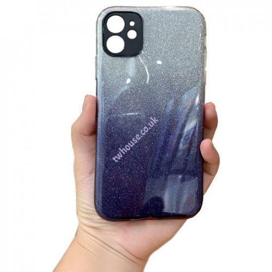 "ZUZU Glitter Silicone Soft Back Case for iPhone 12 Pro (6.1"")"