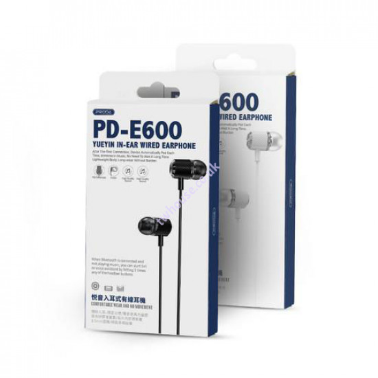 Proda PD-E600 YUEYIN In-Ear Headphone