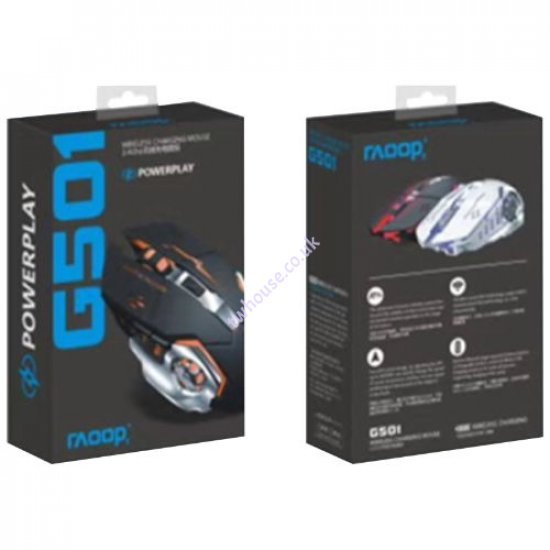 RAOOP G501 Wireless Gaming Mouse with Light