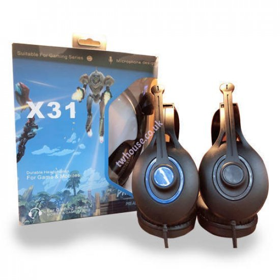 X39 Gaming Headset for PlayStation & Xbox