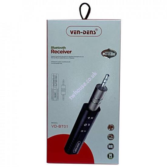 VEN-DENS VD-BT01 Bluetooth Universal 3.5mm Jack Bluetooth Car Kit Hands-Free