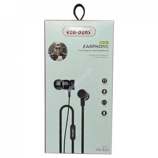 VEN-DENS VD-E01 In-Ear Earphone