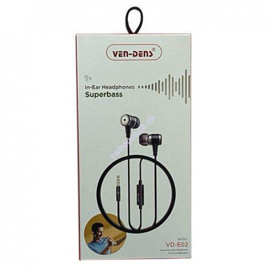 VEN-DENS VD-E02 In-Ear Earphone
