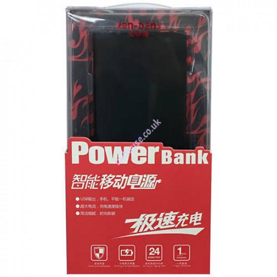 VEN-DENS VD-PB05 9000mAh Power Bank (Black)