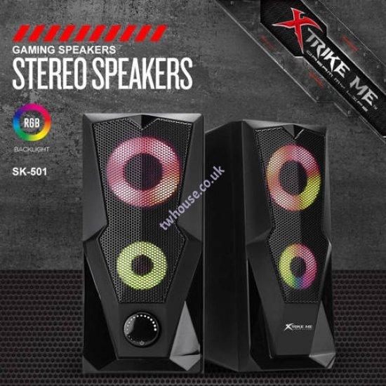 XTRIKE ME SK-501 USB Speakers