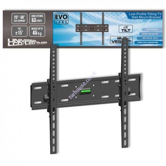 Evo Labs Low-Profile Tilting TV Wall Mount