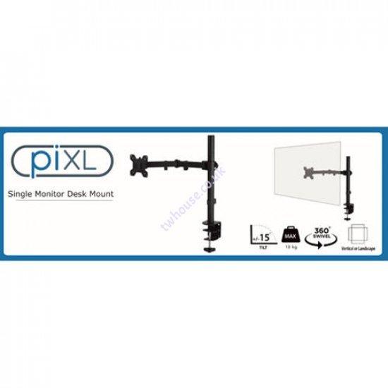 PIXL Single Monitor Arm Desk Mount