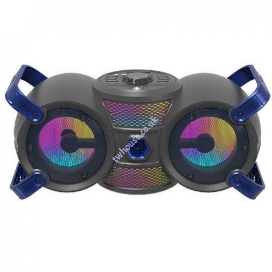 OnePlus NF4069 20W TWS Bluetooth Speaker with LED Light (Blue)