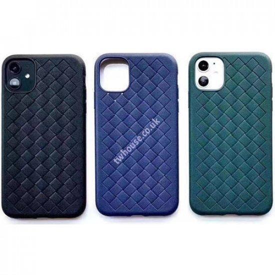 """ZUZU TPU Woven Design Phone Case for iPhone 12 Mini (5.4"""")"""