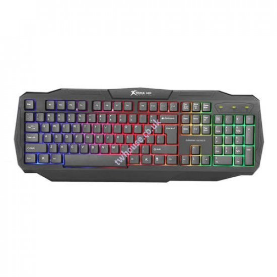 XTRIKE ME CM-406 4 IN 1 Keyboard, Mouse, Mat & Headset Gaming Kit
