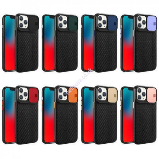 ZUZU Back Cover Case with Slide Camera Cover for iPhone 11 Pro Max
