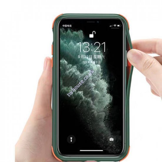 ZUZU Smoke Shockproof Protective Back Cover Case for iPhone XS Max