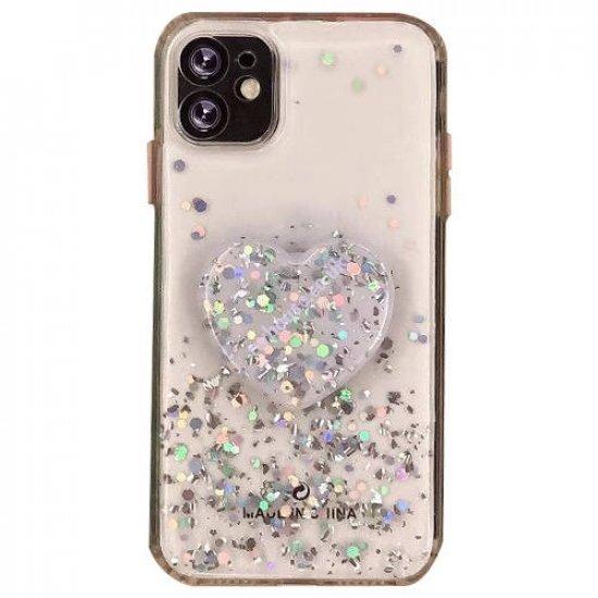 "ZUZU Liquid Glitter Hybrid Case for iPhone 12 Pro Max (6.7"")"