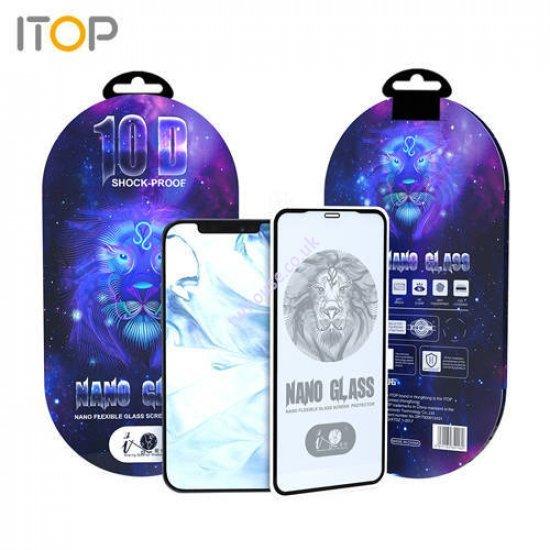 "ITOP 10D Premium Nano Flexible Glass Screen Protector for iPhone 12 Mini (5.4"")"