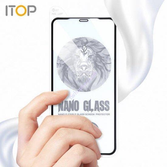 "ITOP 10D Premium Nano Flexible Glass Screen Protector for iPhone 12 Pro Max (6.7"")"