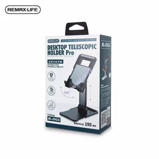 Remax RL-CH15 Desktop Telescopic Holder for Smartphone & Tablet