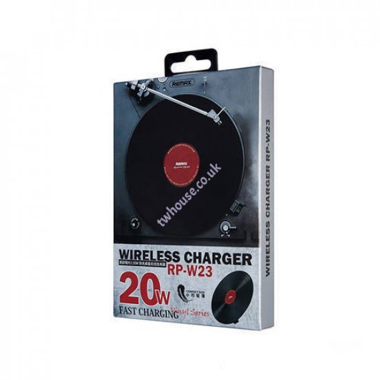 Remax RP-W23 Retro Vinyl Shape Style 20W Wireless Fast Charger