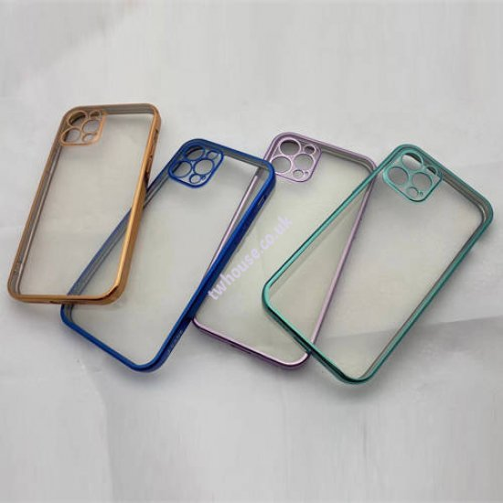 "Electroplate TPU Series Creative Phone Case for iPhone 12 (6.1"")"