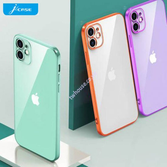 """Electroplate TPU Series Creative Phone Case for iPhone 12 Pro (6.1"""")"""