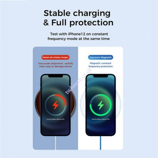 Joyroom JR-A28 15W MagSafe Magnetic Wireless Fast Charger