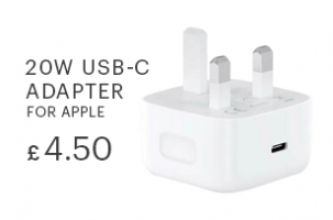 20w USB-C power adapter for apple devices