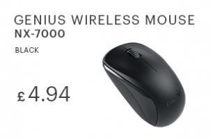 Genius NX-7000 Wireless Mouse Black