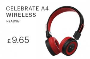 wholesale Celebrat A4 Wireless Headset uk